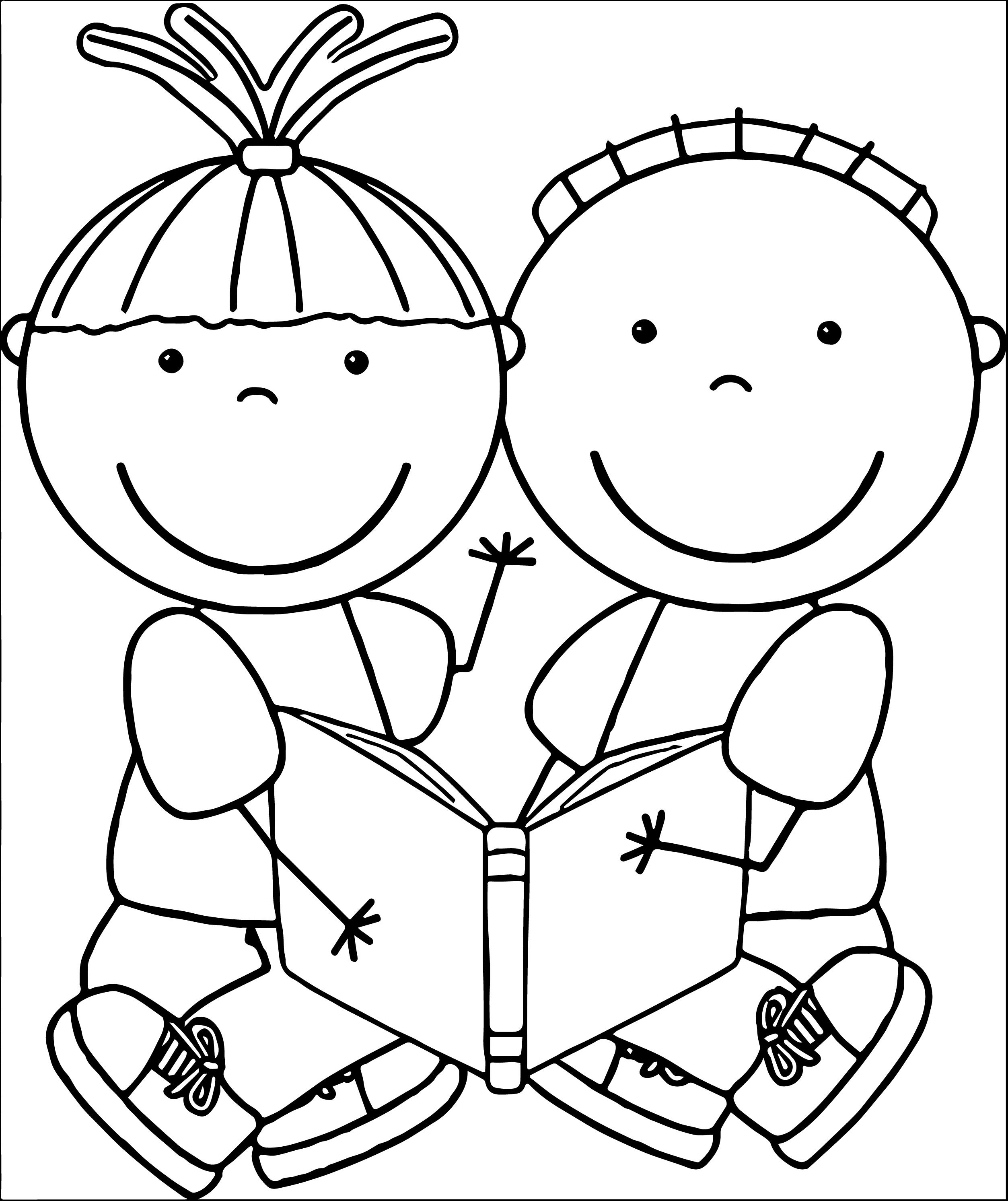 clip art coloring pages free educational clipart free clip art children reading coloring art pages clip