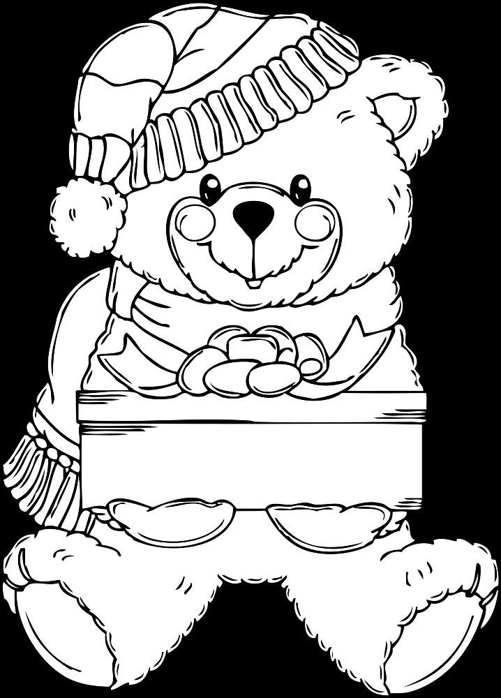 clip art coloring pages onlinelabels clip art christmas bear coloring page coloring art pages clip