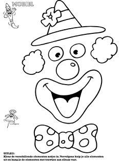 clown stencil printable clown coloring pages cb clown coloring page classroom stencil printable clown