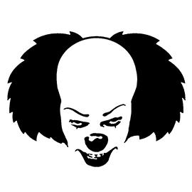 clown stencil printable clown pattern clown crafts circus crafts templates clown stencil printable