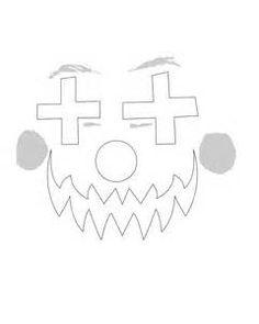 clown stencil printable clownfish outline google search pez payaso plantillas stencil printable clown