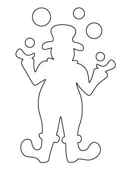 clown stencil printable flickriver dan fletcher39s photos tagged with clownstencil stencil clown printable