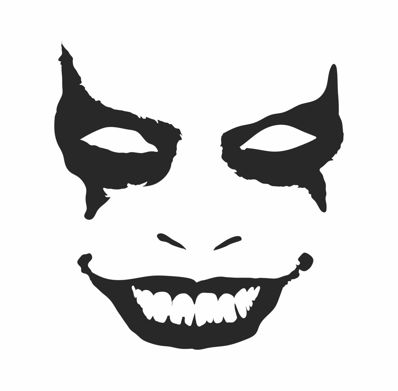 clown stencil printable penny wise etsy printable clown stencil