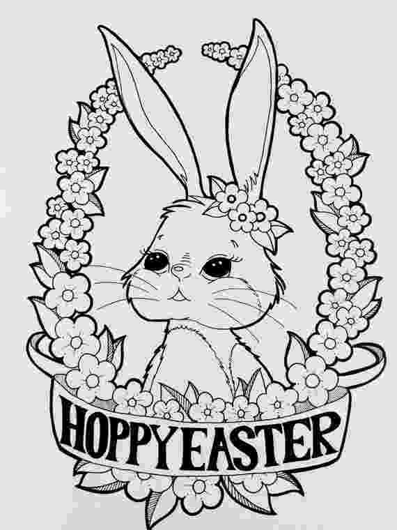 colering pages digital coloring page happy easter bunny coloring page pages colering