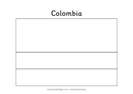 colombia flag coloring page colombia39s flag quizprintout enchantedlearningcom colombia coloring page flag