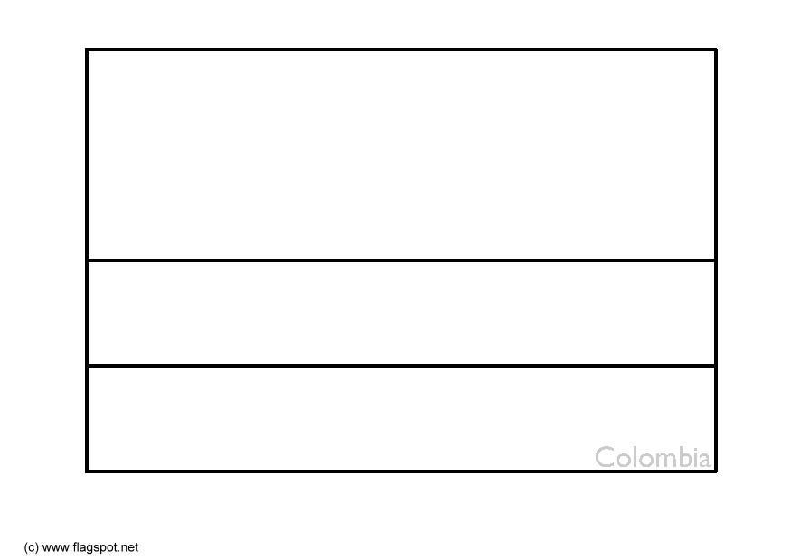 colombia flag coloring page coloring page flag colombia free printable coloring pages coloring colombia page flag