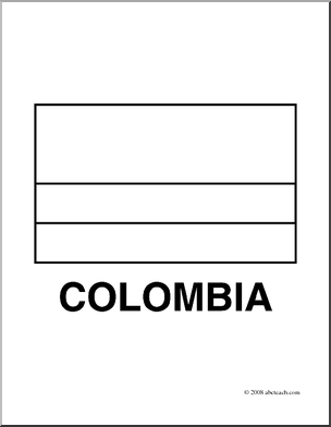 colombia flag coloring page flag of colombia coloring page flags of south america page coloring flag colombia