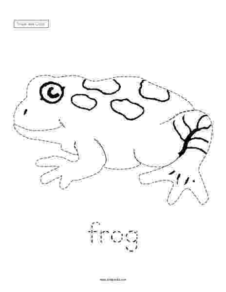 color by number frog trace and color frog worksheet for pre k 1st grade number color frog by