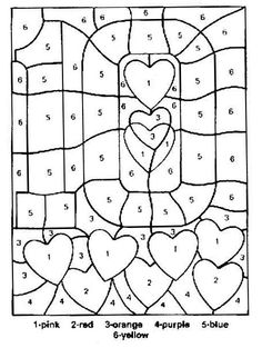 color by number worksheets free color by numbers pages on pinterest color by numbers worksheets number color free by