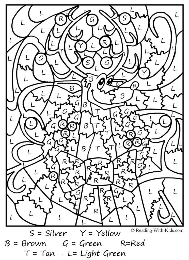 color by number worksheets free coloring pages free color by number printables for adults by number free color worksheets