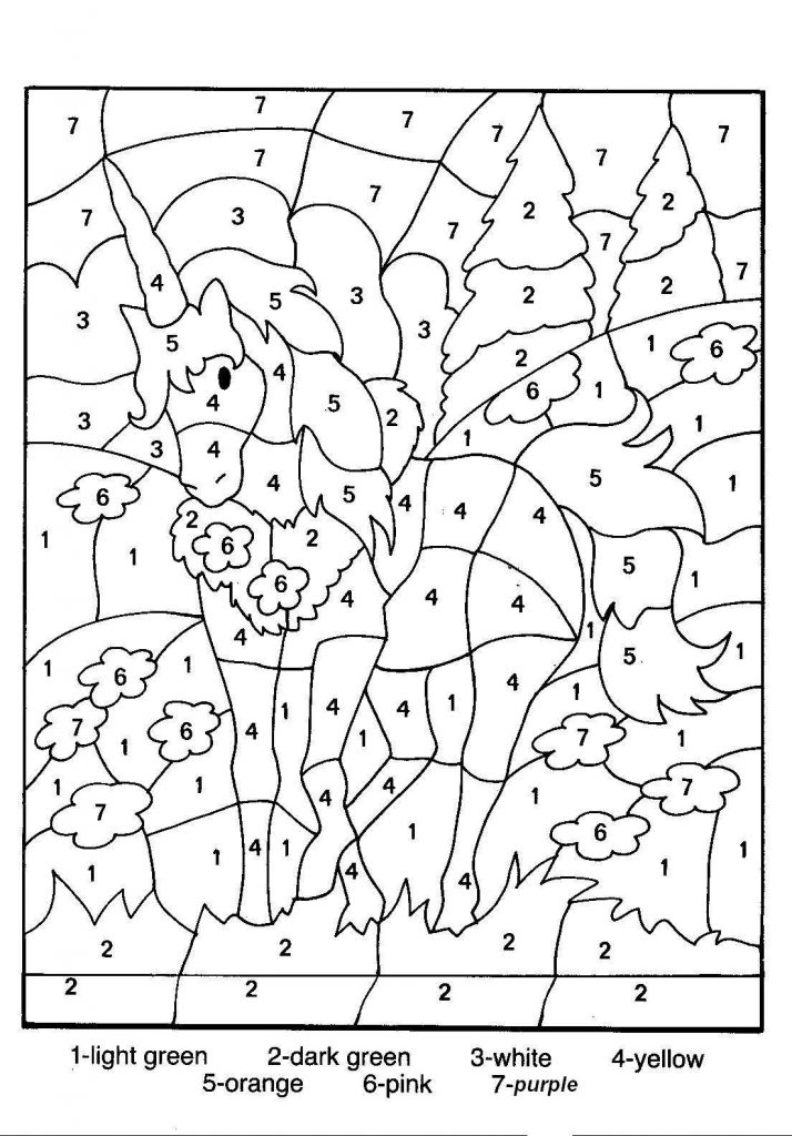 color by number worksheets free free printable color by number coloring pages best free color number by worksheets