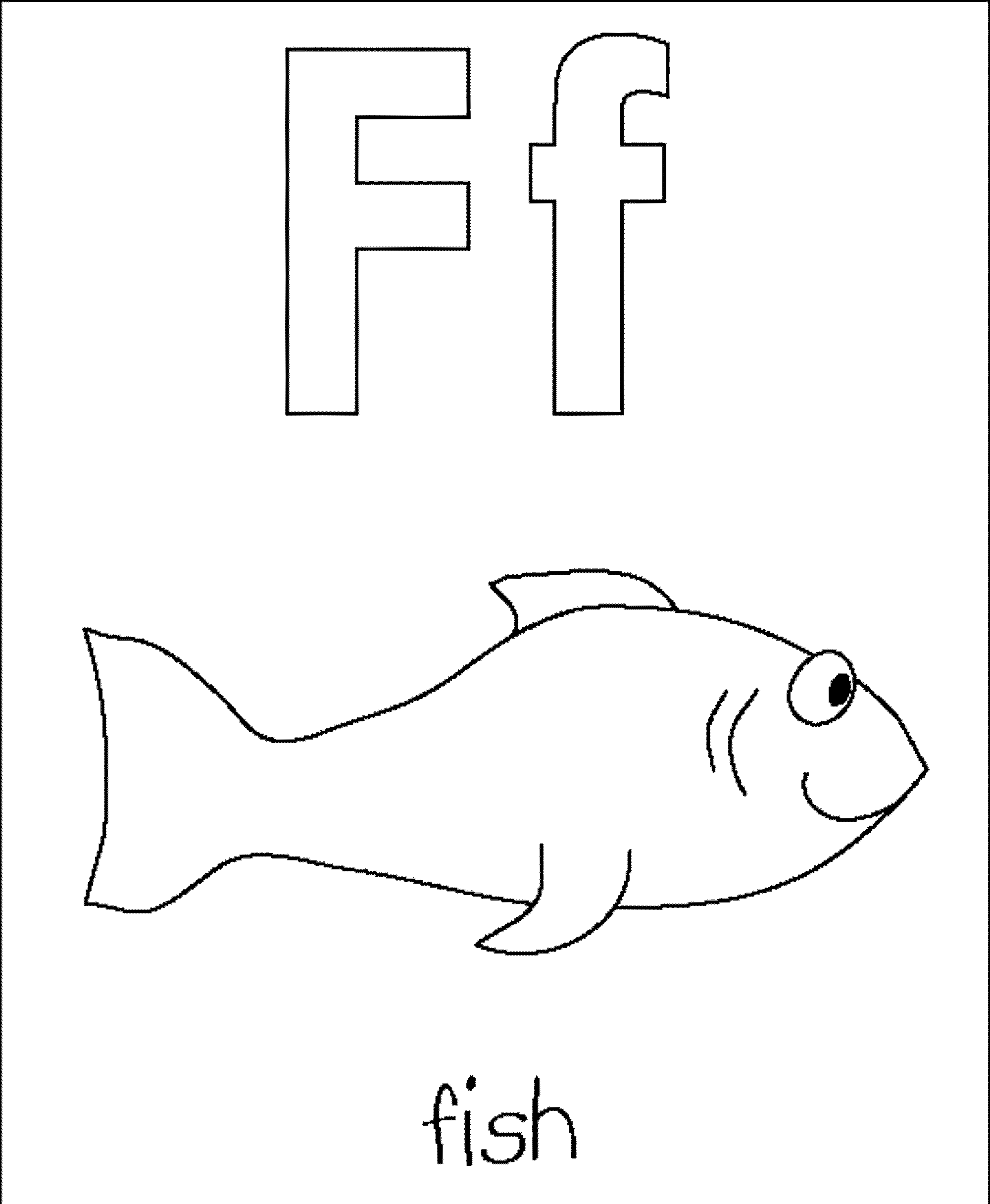 color letter f free printable alphabet coloring pages for kids best f letter color