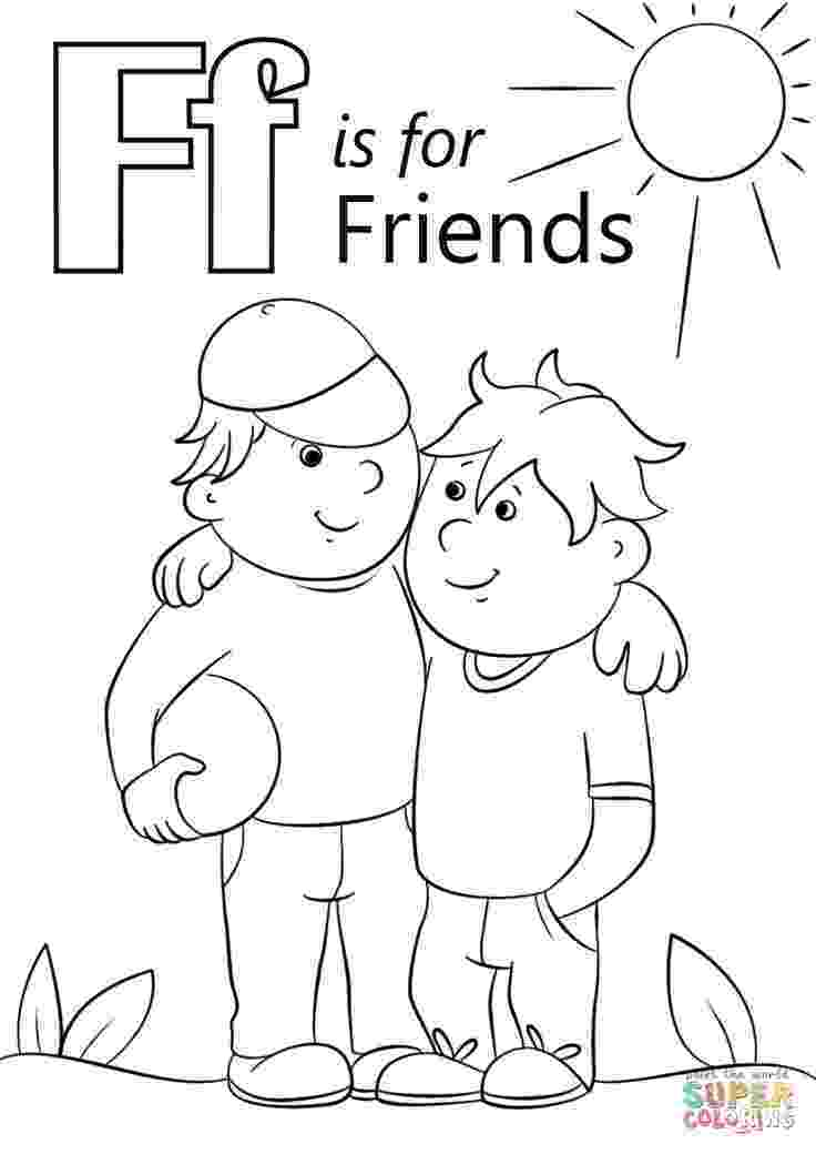 color letter f letter n coloring pages preschool printable for kids f letter color