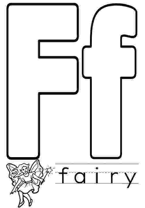 color letter f things that start with f free printable coloring pages f color letter