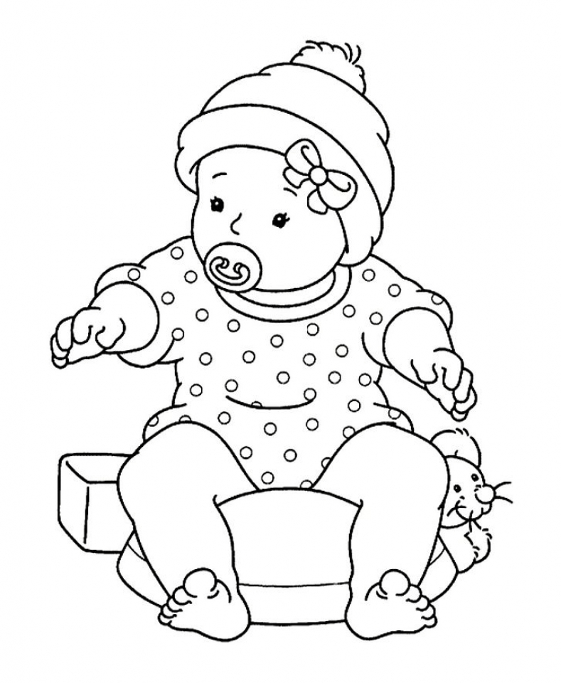 color pages for boys free printable baby coloring pages for kids pages for color boys