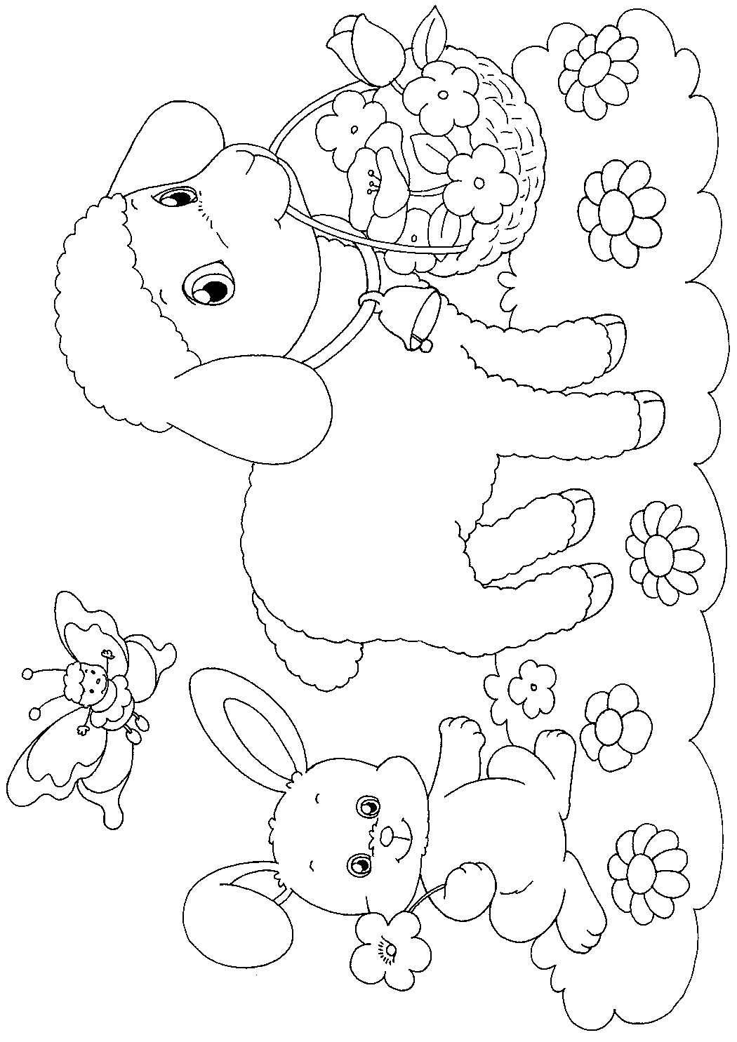 color pages for easter easter colouring easter paper craft to print and colour color easter for pages