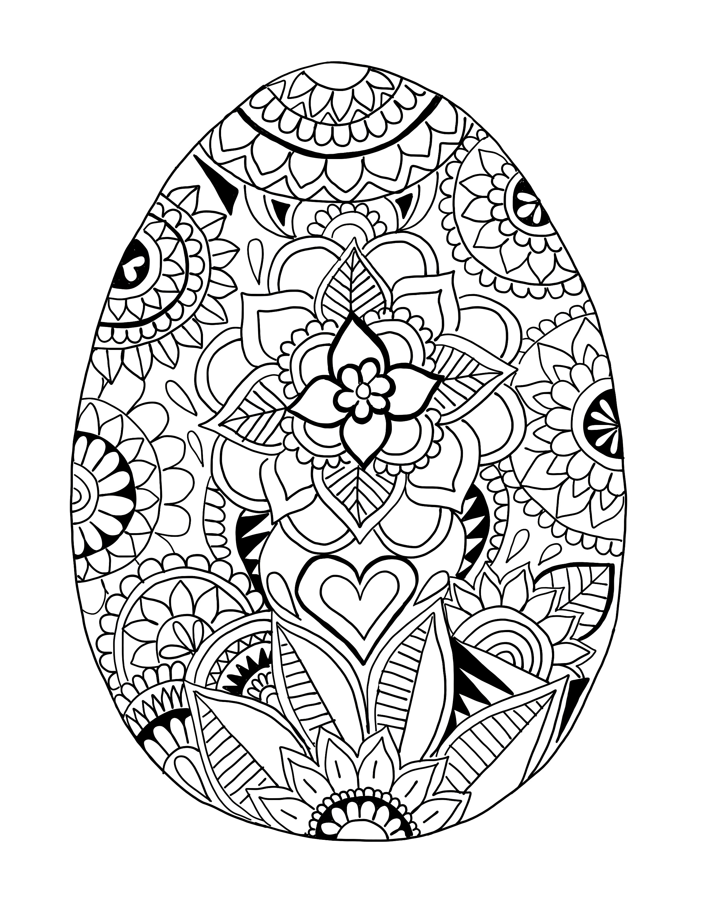 color pages for easter easter egg printable coloring page ooly for easter pages color