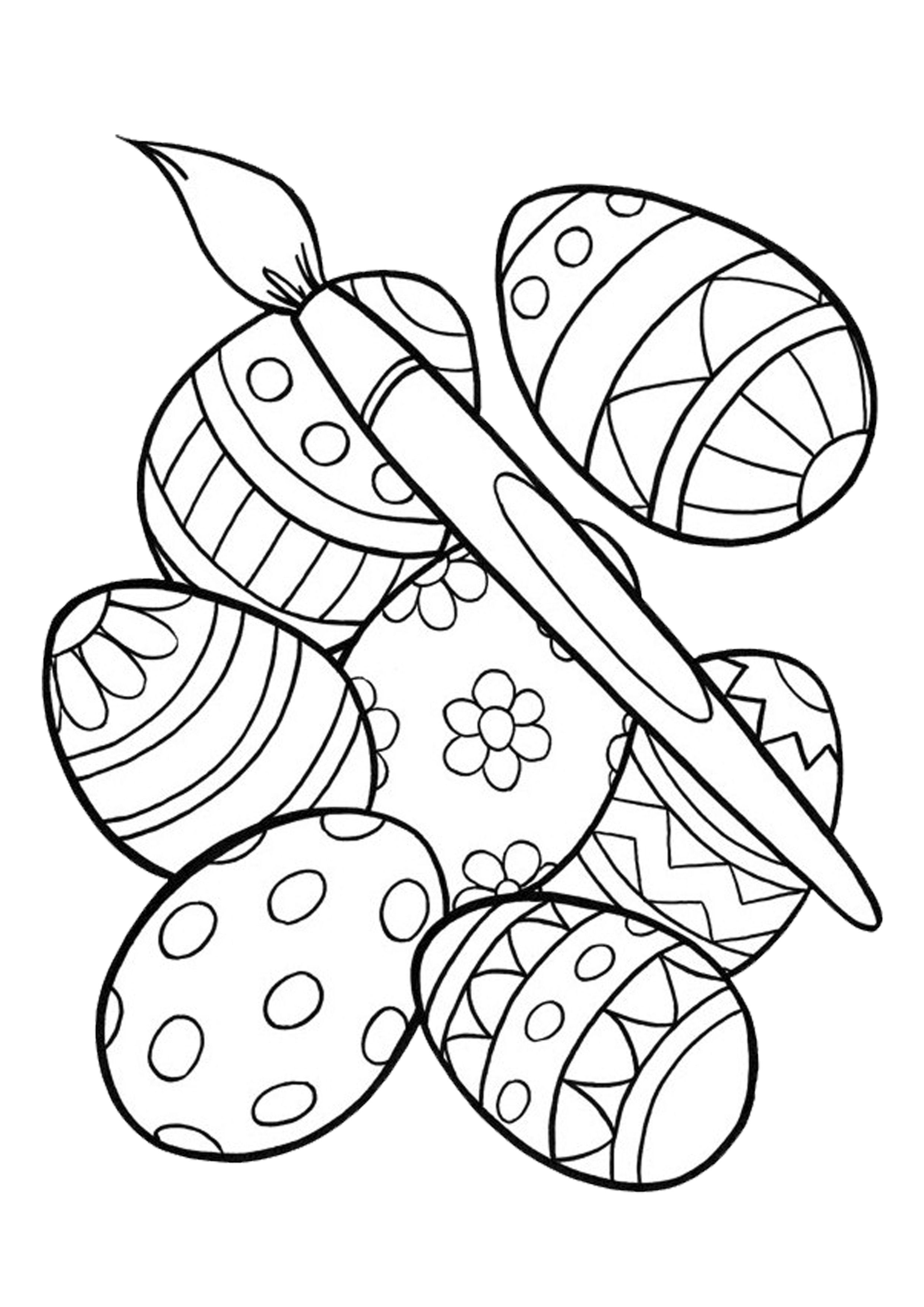 color pages for easter easter free easter coloring pages easter egg coloring easter for color pages