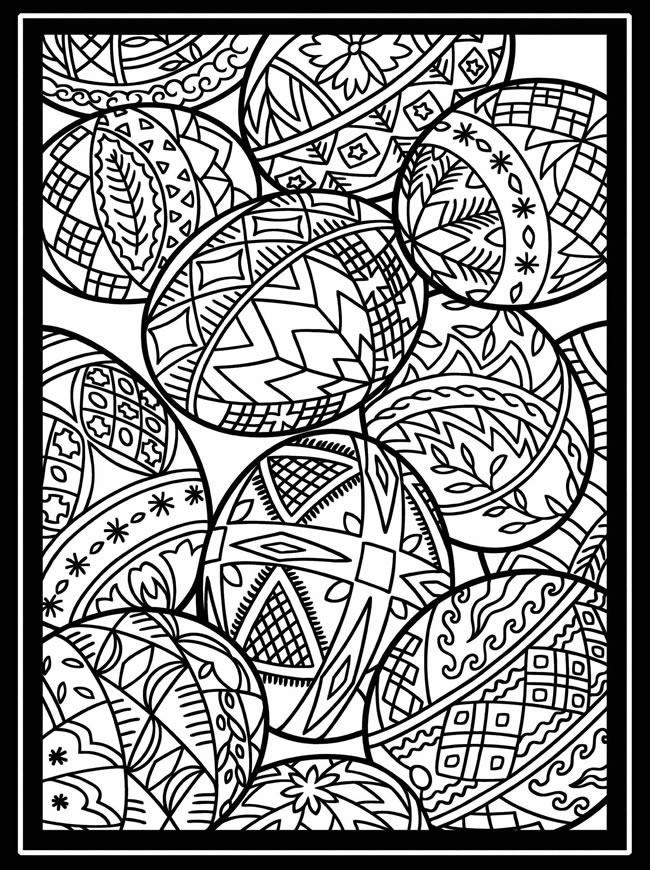 color pages for easter hello kitty happy easter coloring page free printable for pages color easter