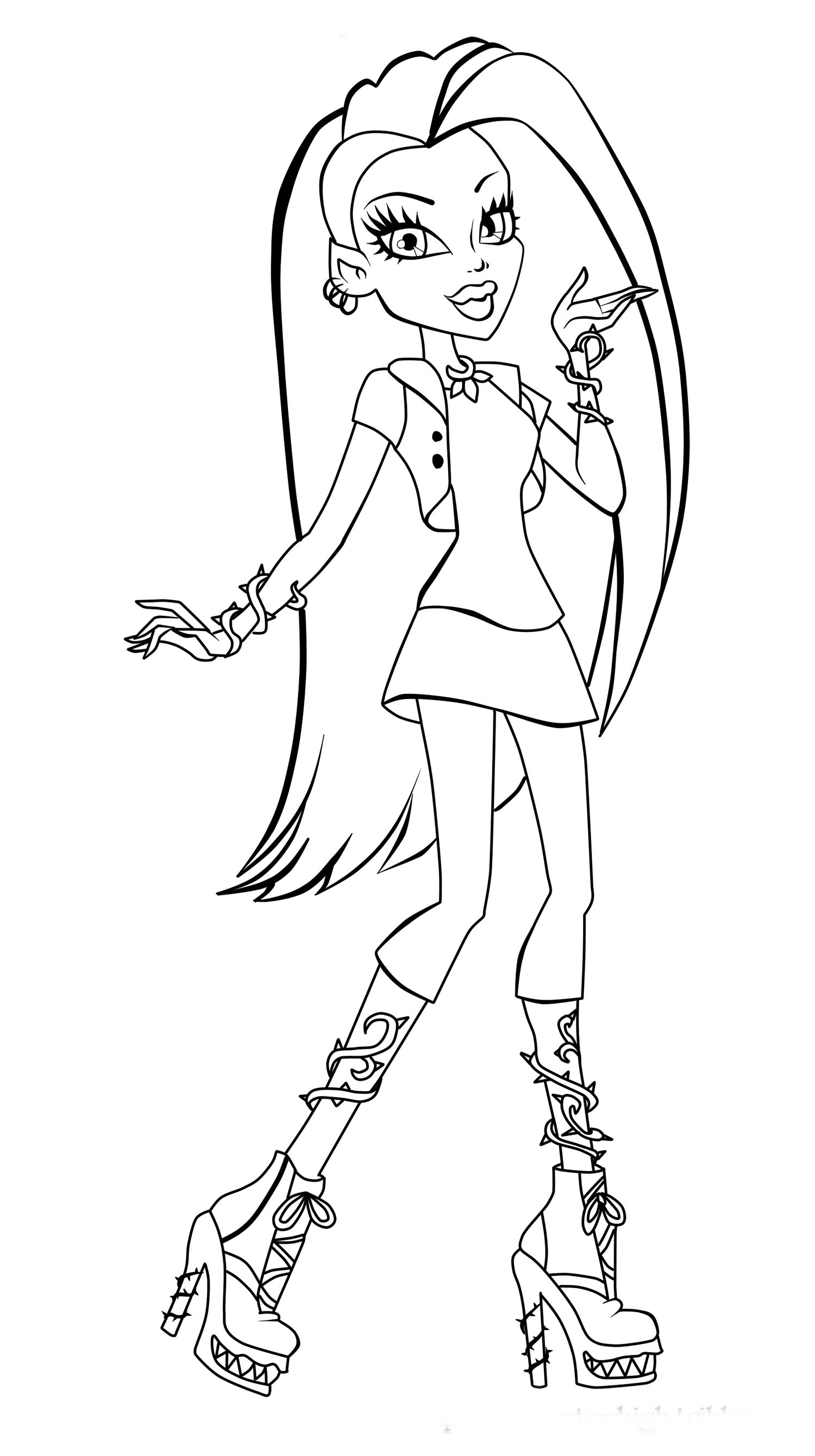 color pages monster high draculaura monster high coloring page coloring pages of monster pages color high