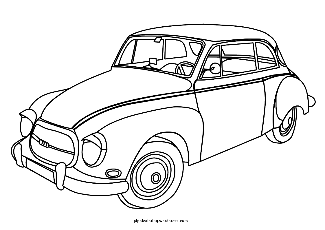 color pages of cars cars pippi39s coloring pages pages color cars of