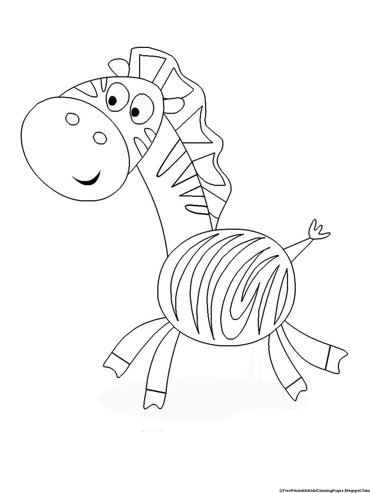 colored pages zebra coloring pages free printable kids coloring pages pages colored