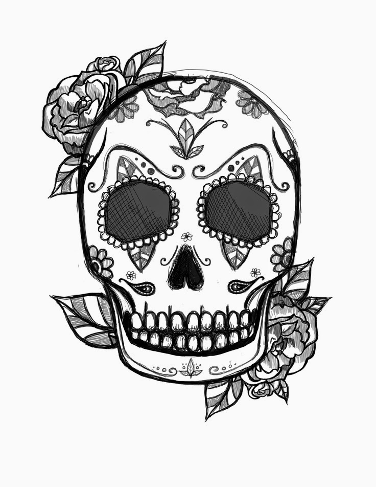 colored sugar skulls coloring pages skull free printable coloring pages skulls colored sugar