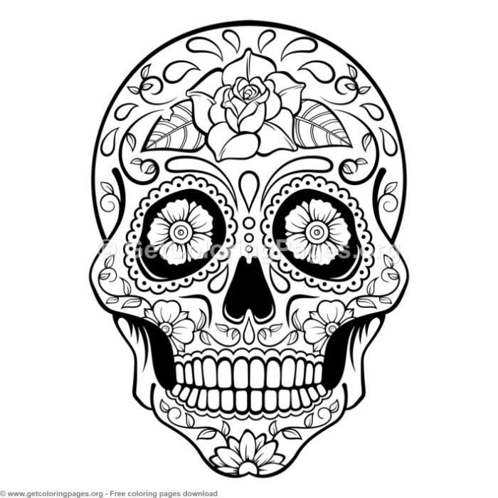 colored sugar skulls march 2013 colored sugar skulls