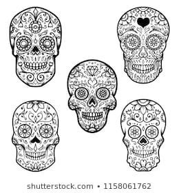 colorful sugar skull how to draw sugar skulls video art tutorial lucid publishing colorful sugar skull