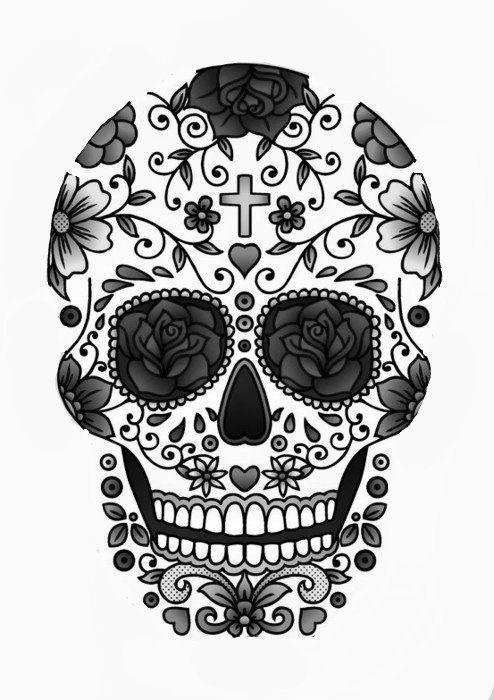 colorful sugar skull sugar skull art colorful day of the dead art by thaneeya sugar skull colorful