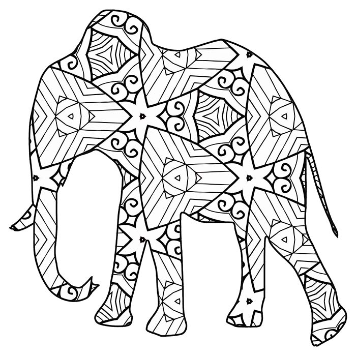 coloring animal online 30 free coloring pages a geometric animal coloring online animal coloring