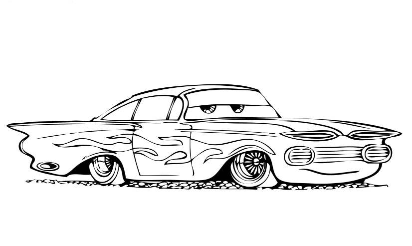 coloring book car disney pixar39s cars coloring pages disneyclipscom coloring car book
