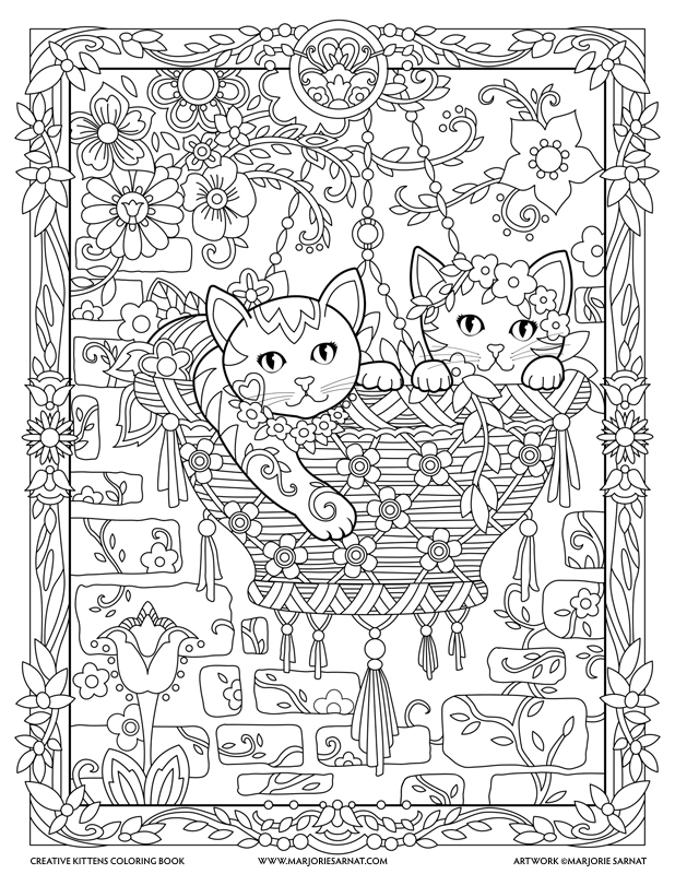 coloring book cat dog and cat coloring pages getcoloringpagescom coloring cat book