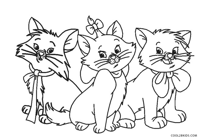 coloring book cat free printable cat coloring pages for kids coloring book cat 1 2