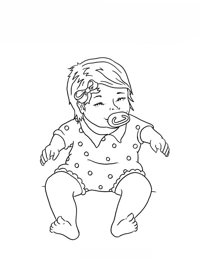 coloring book for babies desenho de bebê fofinho para colorir tudodesenhos coloring book babies for