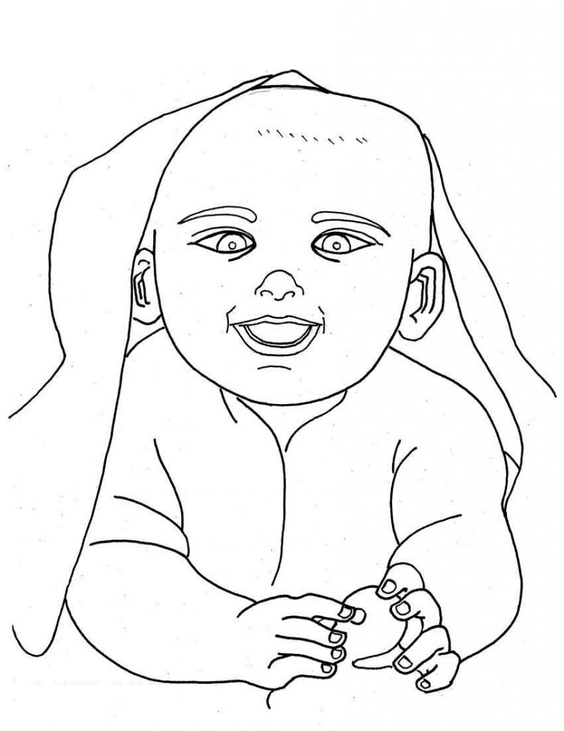 coloring book for babies free printable baby coloring pages for kids babies coloring for book