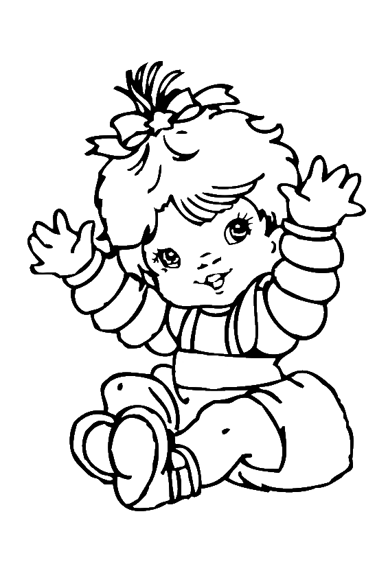 coloring book for babies free printable baby coloring pages for kids cool2bkids coloring book babies for