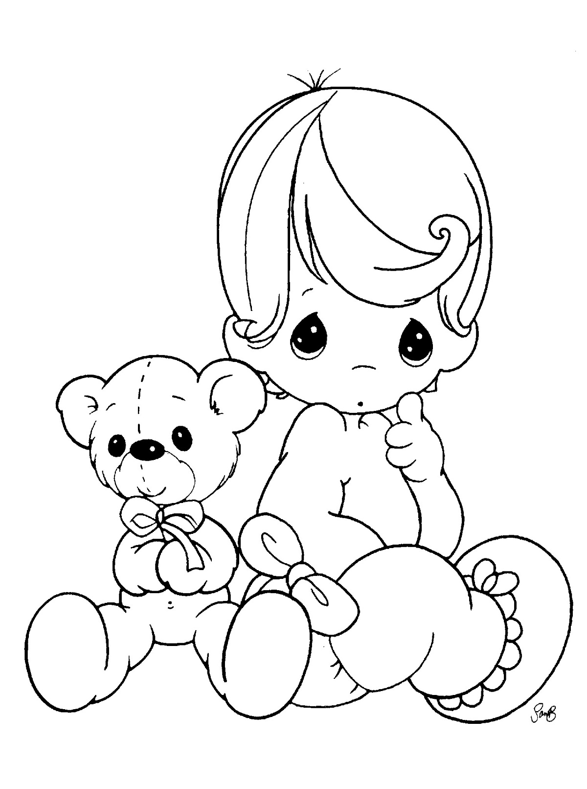 coloring book for babies free printable baby coloring pages for kids for book coloring babies
