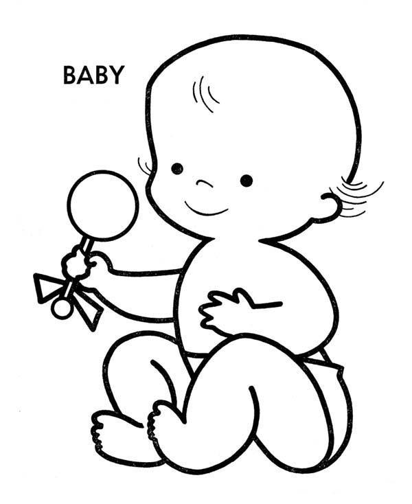 coloring book for babies kids n funcom 23 coloring pages of baby babies book for coloring