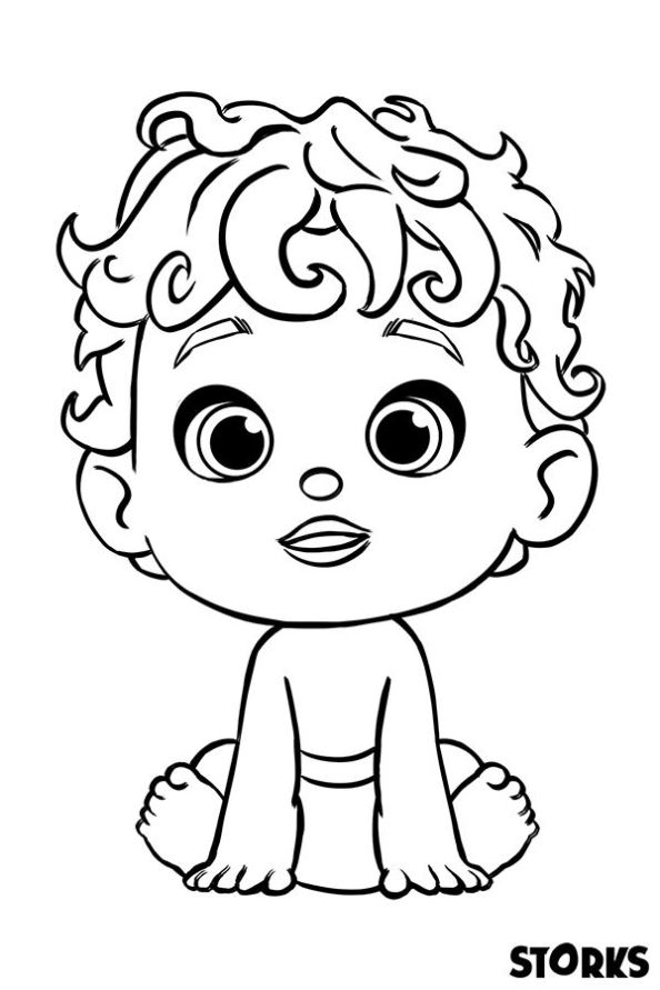coloring book for babies kids n funcom 7 coloring pages of storks coloring for babies book