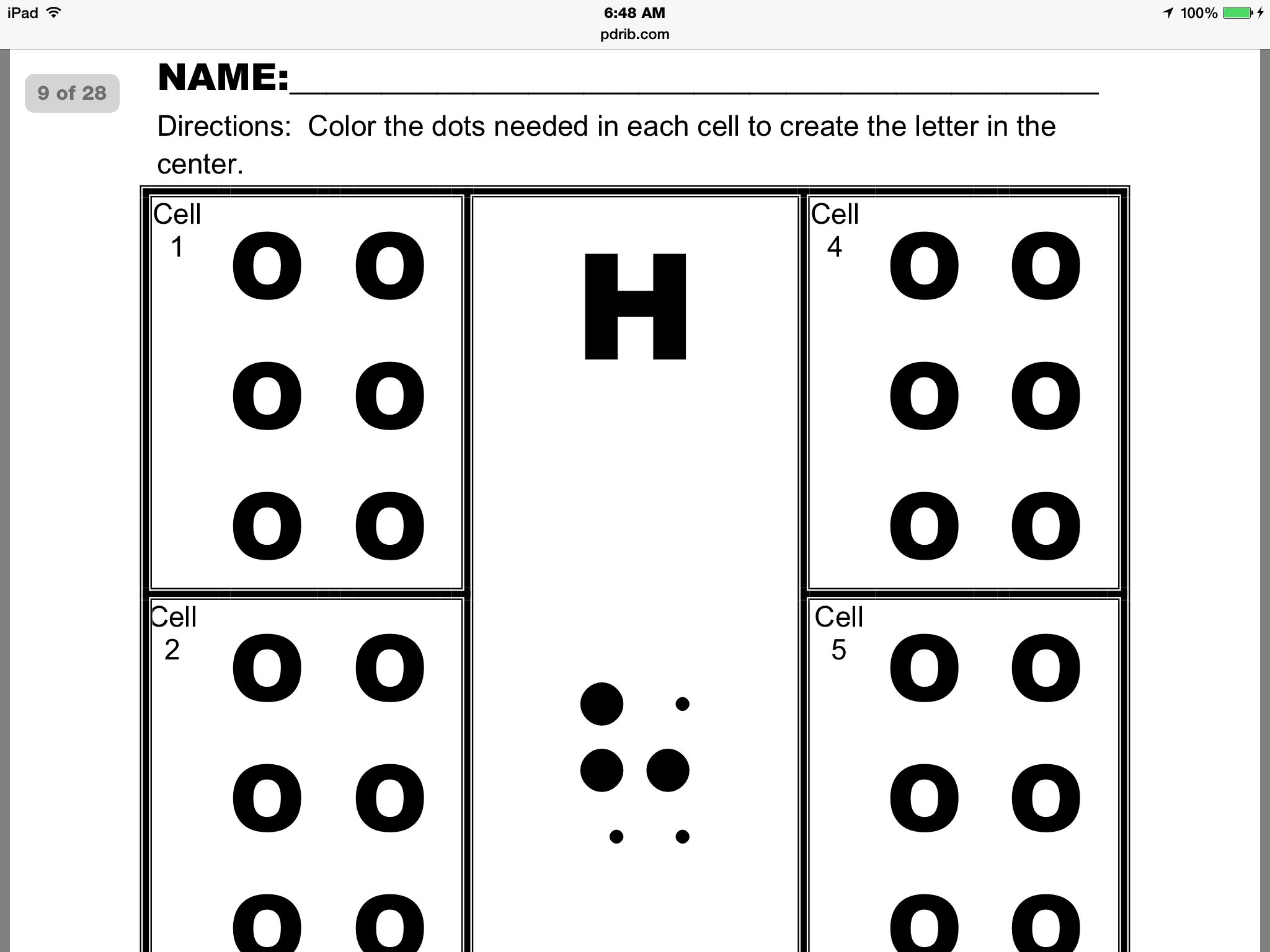 coloring book for visually impaired free braille activity sheets created by merry noel coloring for visually book impaired