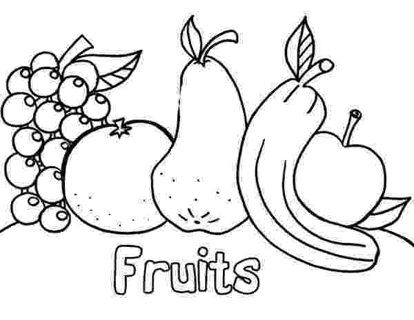 coloring book fruits basketful to color children39s coloring books fruit book coloring fruits