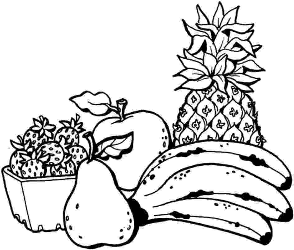coloring book fruits free printable fruit coloring pages for kids book coloring fruits