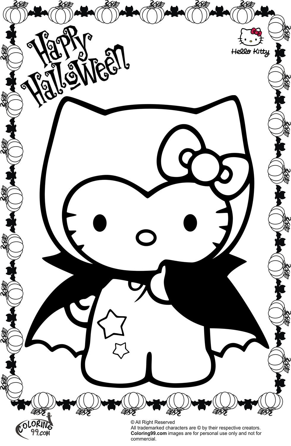 coloring book kitty hello kitty halloween coloring pages minister coloring coloring kitty book