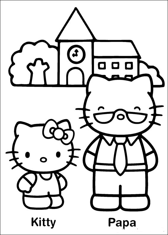 coloring book kitty october 2013 team colors book coloring kitty