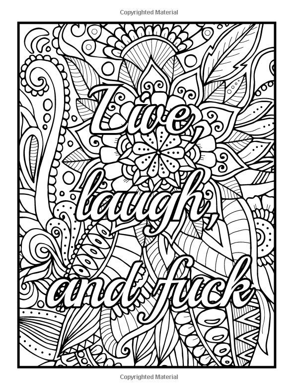 coloring books for adults bad words amazoncom be fcking awesome and color an adult words adults for bad books coloring