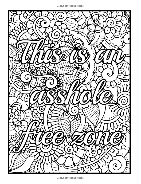 coloring books for adults bad words httpswwwfacebookcomcolorfullanguageart swear words for coloring books words adults bad