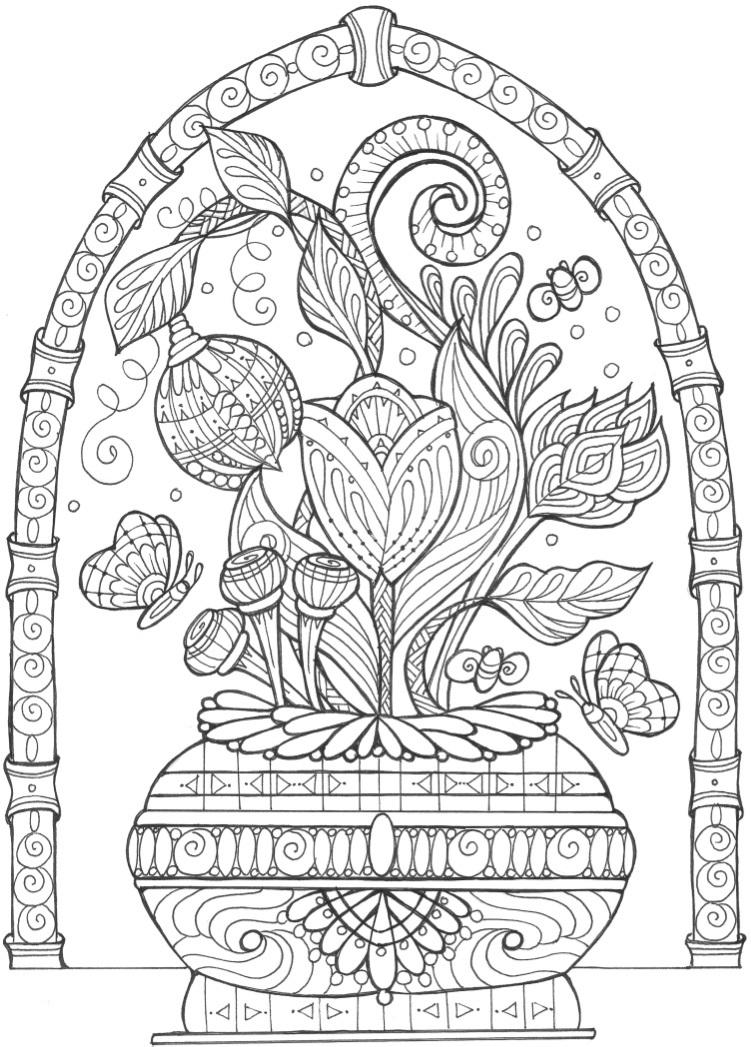 coloring books for adults flowers a flower coloring sheet print and color at home so for adults coloring flowers books