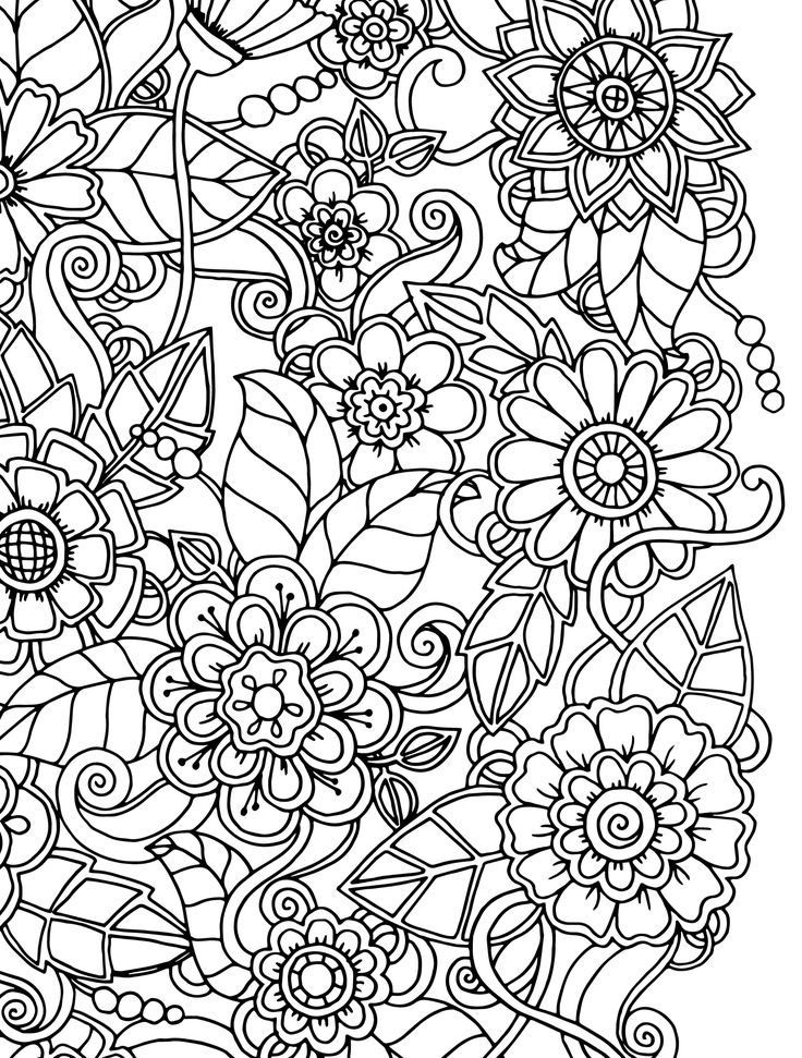 coloring books for adults flowers butterfly and spring flowers 3 coloring pages animal for books adults flowers coloring
