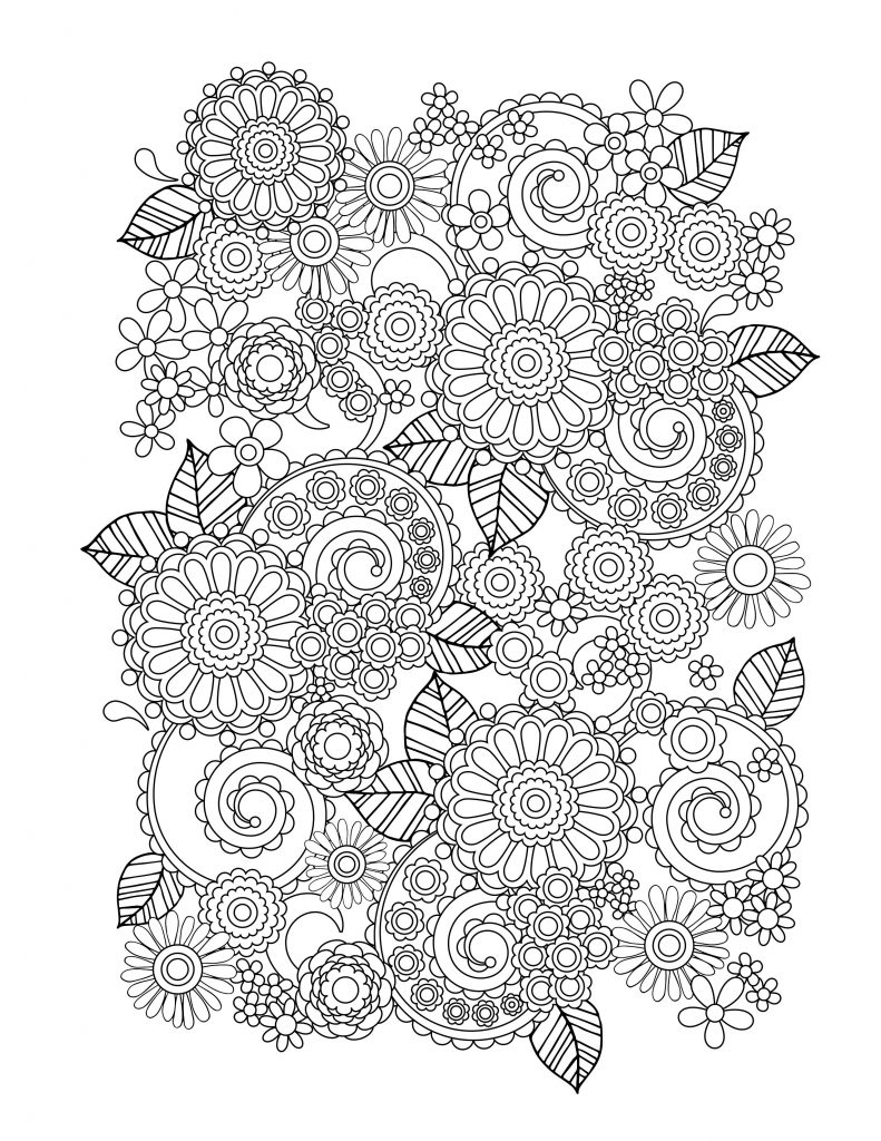 coloring books for adults flowers desenhos para colorir happy elf flowers adults coloring for books